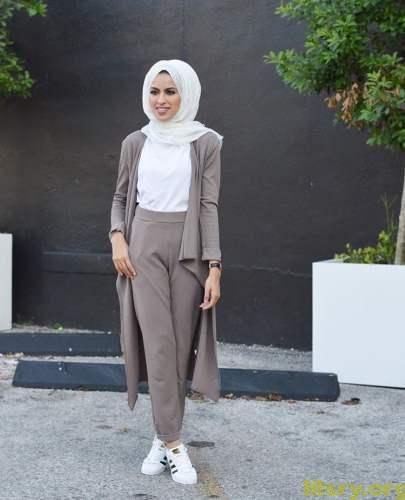 بالصور لبس بنات محجبات , شاهد روعة ملابس المحجبات 5246 2