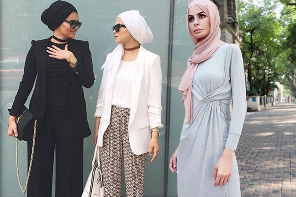 بالصور لبس بنات محجبات , شاهد روعة ملابس المحجبات 5246 5