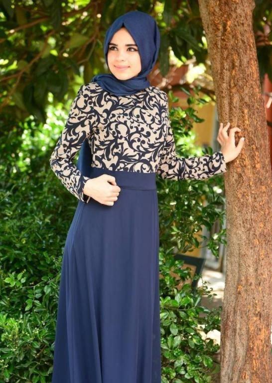 بالصور لبس بنات محجبات , شاهد روعة ملابس المحجبات 5246 6