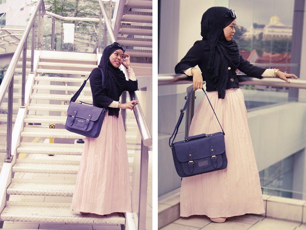 بالصور لبس بنات محجبات , شاهد روعة ملابس المحجبات 5246 8