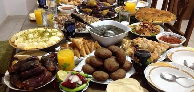 صورة سفرة رمضان , شاهد اجمل تنسيق لسفرة رمضان
