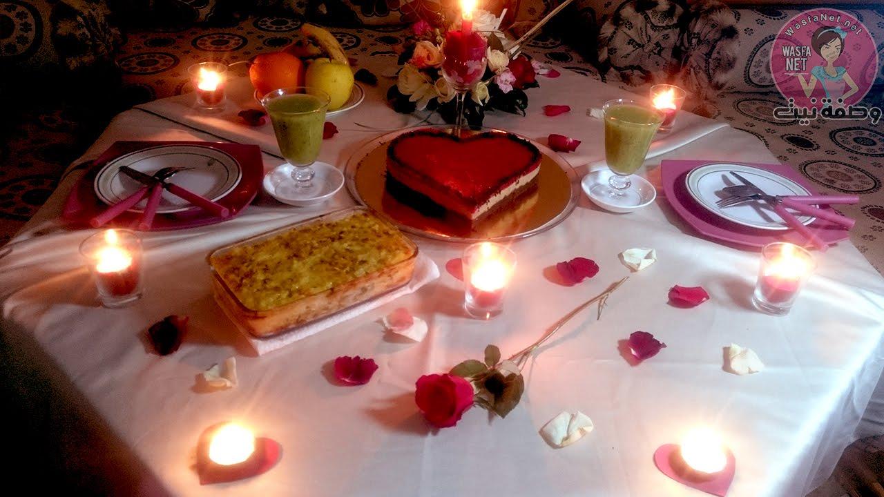 بالصور عشاء رومانسي , بالصور اجمل عشاء رومانسى 5754 2