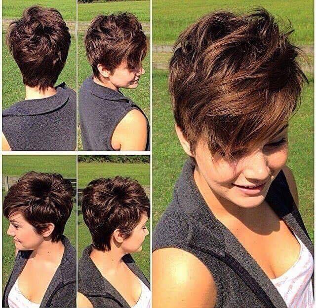 بالصور تسريحات شعر قصير , بالصور احدث صيحات تسريحات الشعر القصير 5826 3
