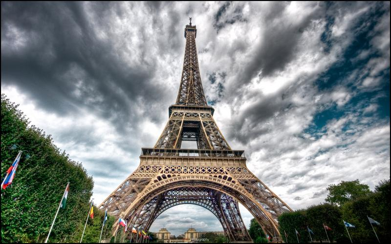 بالصور صور لبرج ايفل , اشهر الصور لبرج ايفل