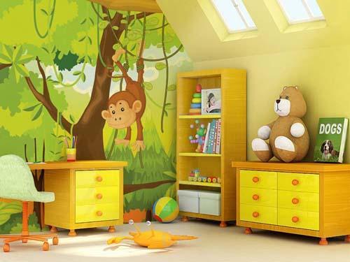 بالصور دهانات غرف اطفال , بالصور دهانات لغرف الاطفال 5897 2