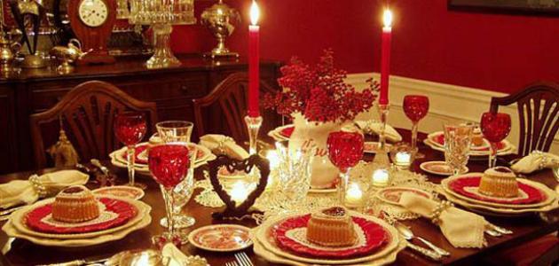 عشاء رومانسي في البيت , بالصور احلى عشاء رومانسى فى البيت