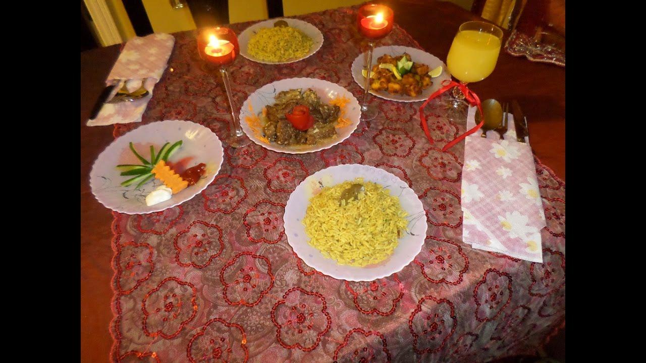 بالصور عشاء رومانسي في البيت , بالصور احلى عشاء رومانسى فى البيت 5954 3