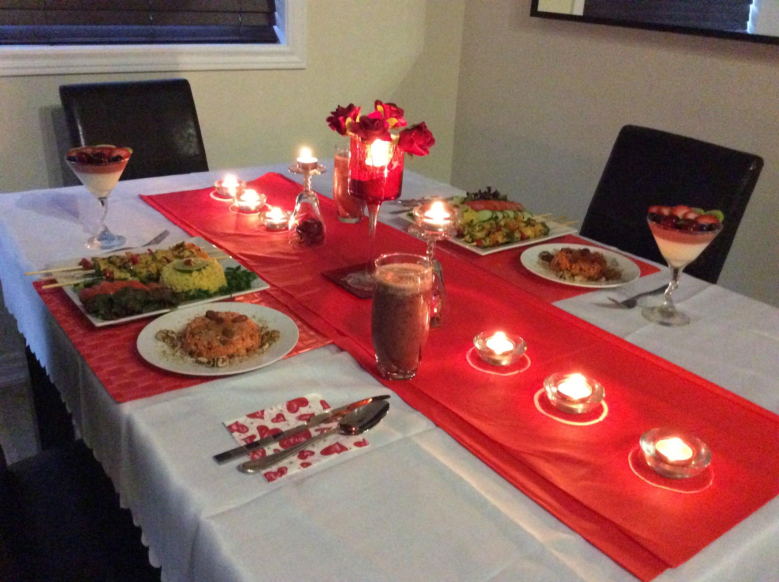 بالصور عشاء رومانسي في البيت , بالصور احلى عشاء رومانسى فى البيت 5954 4
