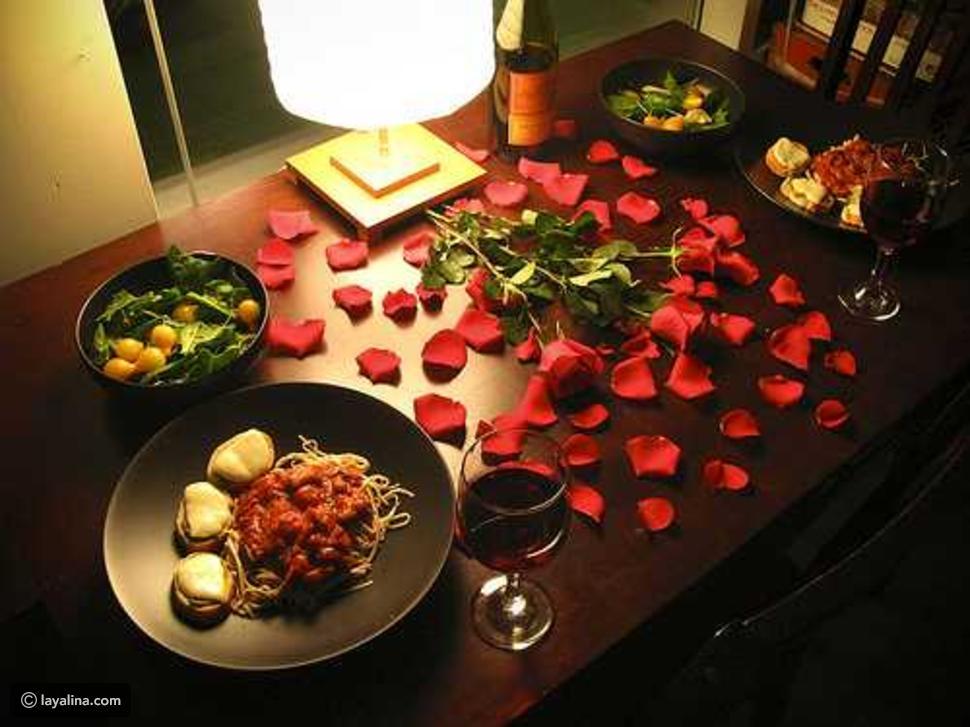 بالصور عشاء رومانسي في البيت , بالصور احلى عشاء رومانسى فى البيت 5954 5