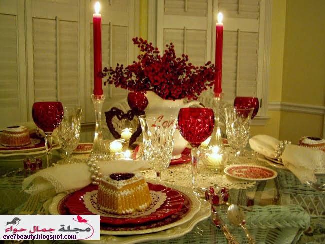 بالصور عشاء رومانسي في البيت , بالصور احلى عشاء رومانسى فى البيت 5954 7