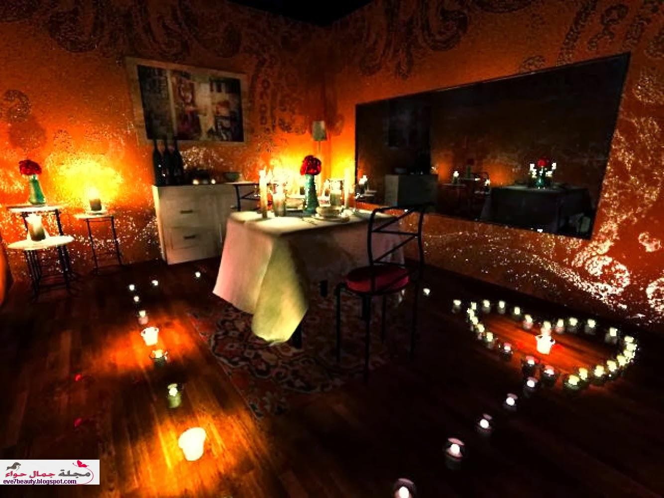 بالصور عشاء رومانسي في البيت , بالصور احلى عشاء رومانسى فى البيت 5954 9