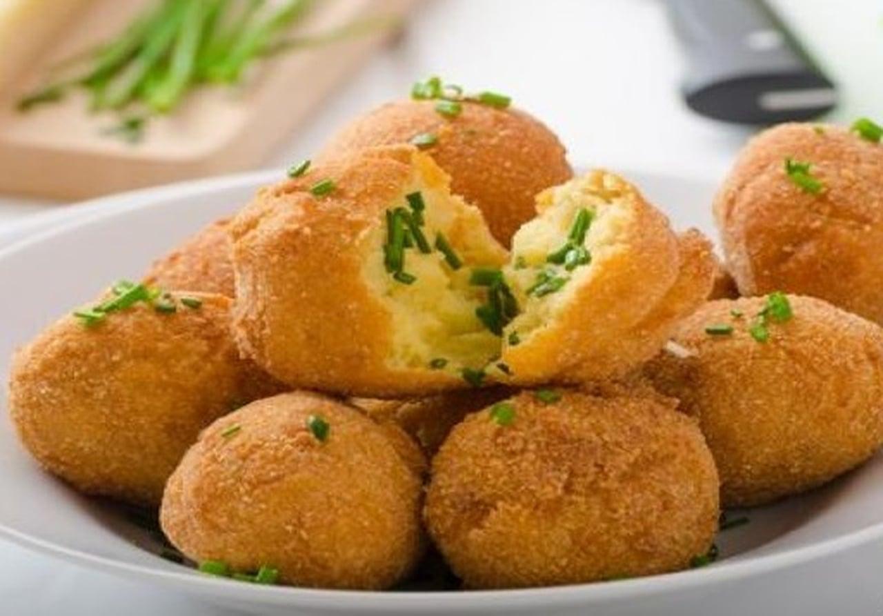 صورة طريقه عمل كرات البطاطس , كرات البطاطس بالجبن