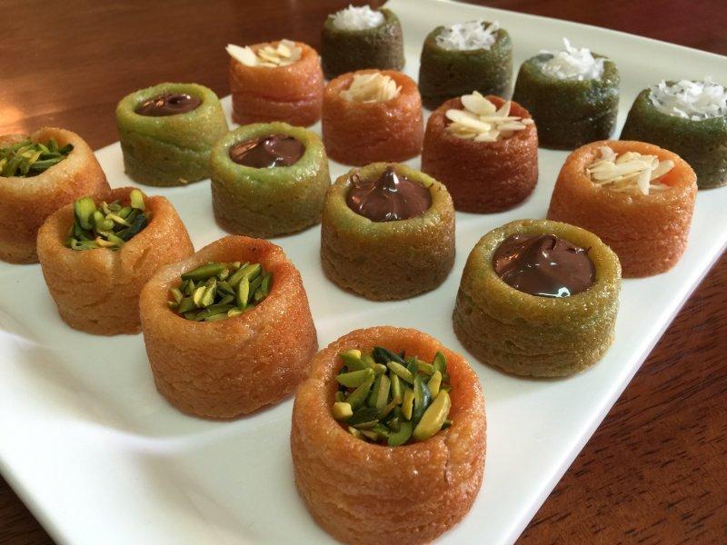 صورة طريقة عمل حلويات بسيطة في المنزل , اسهل طريقه عمل حلويات