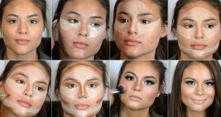 صور تنحيف الوجه , افكار وطرق عملية لتنحيف الوجه