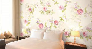 ورق جدران لغرف النوم , اجمل الصور لورق الحائط في غرفة النوم
