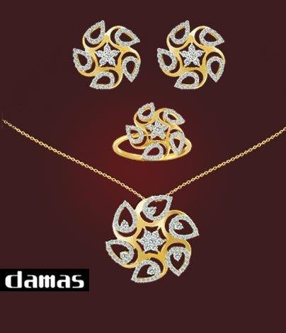 صور مجوهرات داماس , اغلى وارقى والاسم الاشهر في عالم المجوهرات داماس