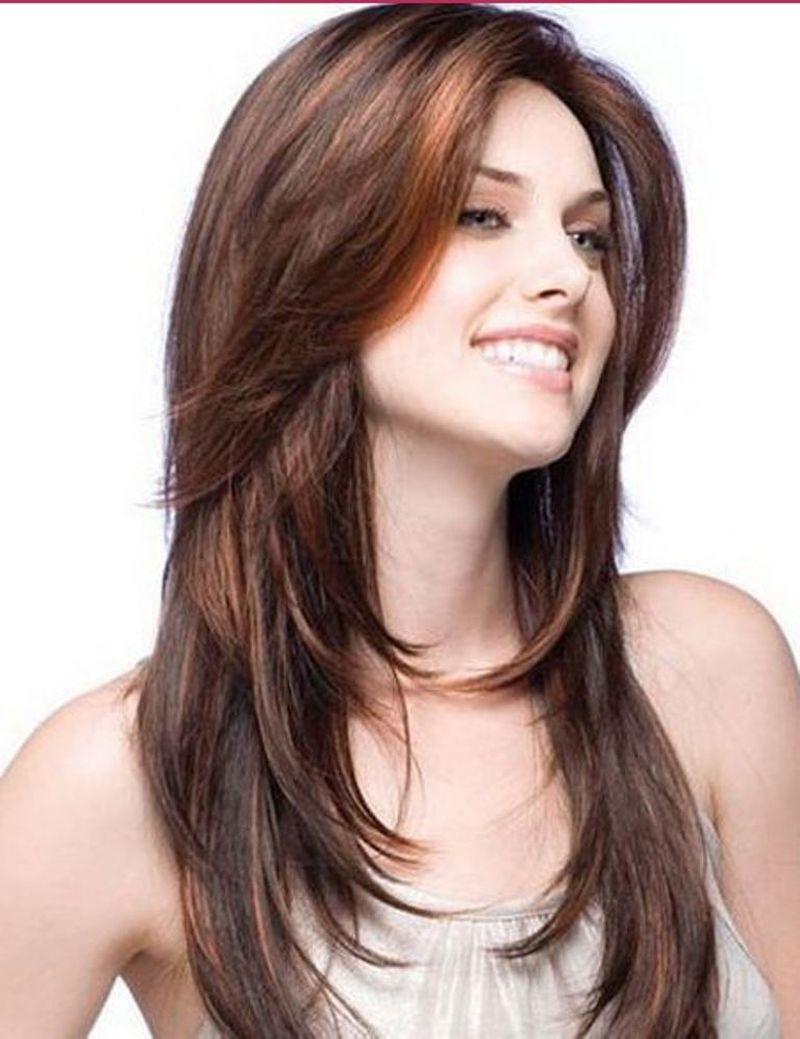 بالصور احدث قصات الشعر الطويل , الجديد والاحدث في صيحات قص شعر المراة 1315 1