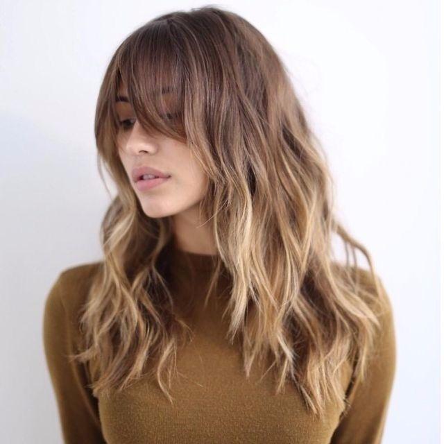 بالصور احدث قصات الشعر الطويل , الجديد والاحدث في صيحات قص شعر المراة 1315 4