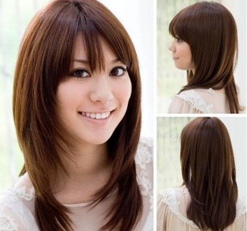 بالصور احدث قصات الشعر الطويل , الجديد والاحدث في صيحات قص شعر المراة 1315 6