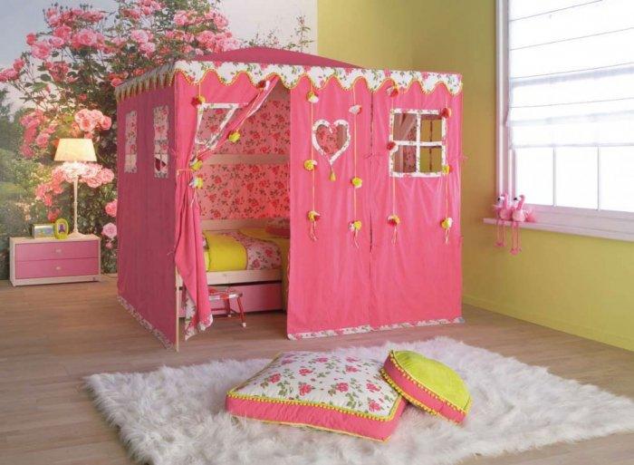 بالصور غرف نوم بنات اطفال , اجمل ديكورات غرف نوم البنات 1680 2