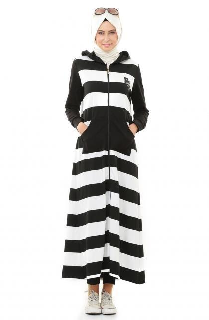 بالصور اجمل الفساتين للمحجبات , ملابس محجبات شيك جدا 1704 7