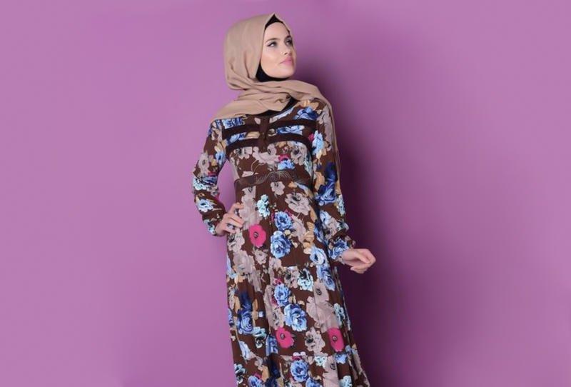 بالصور اجمل الفساتين للمحجبات , ملابس محجبات شيك جدا 1704 8