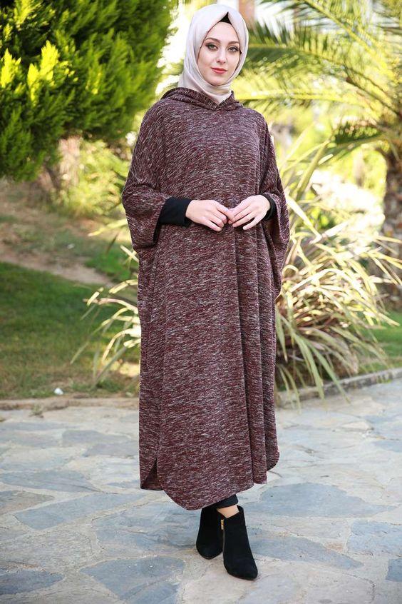 بالصور اجمل الفساتين للمحجبات , ملابس محجبات شيك جدا 1704 9