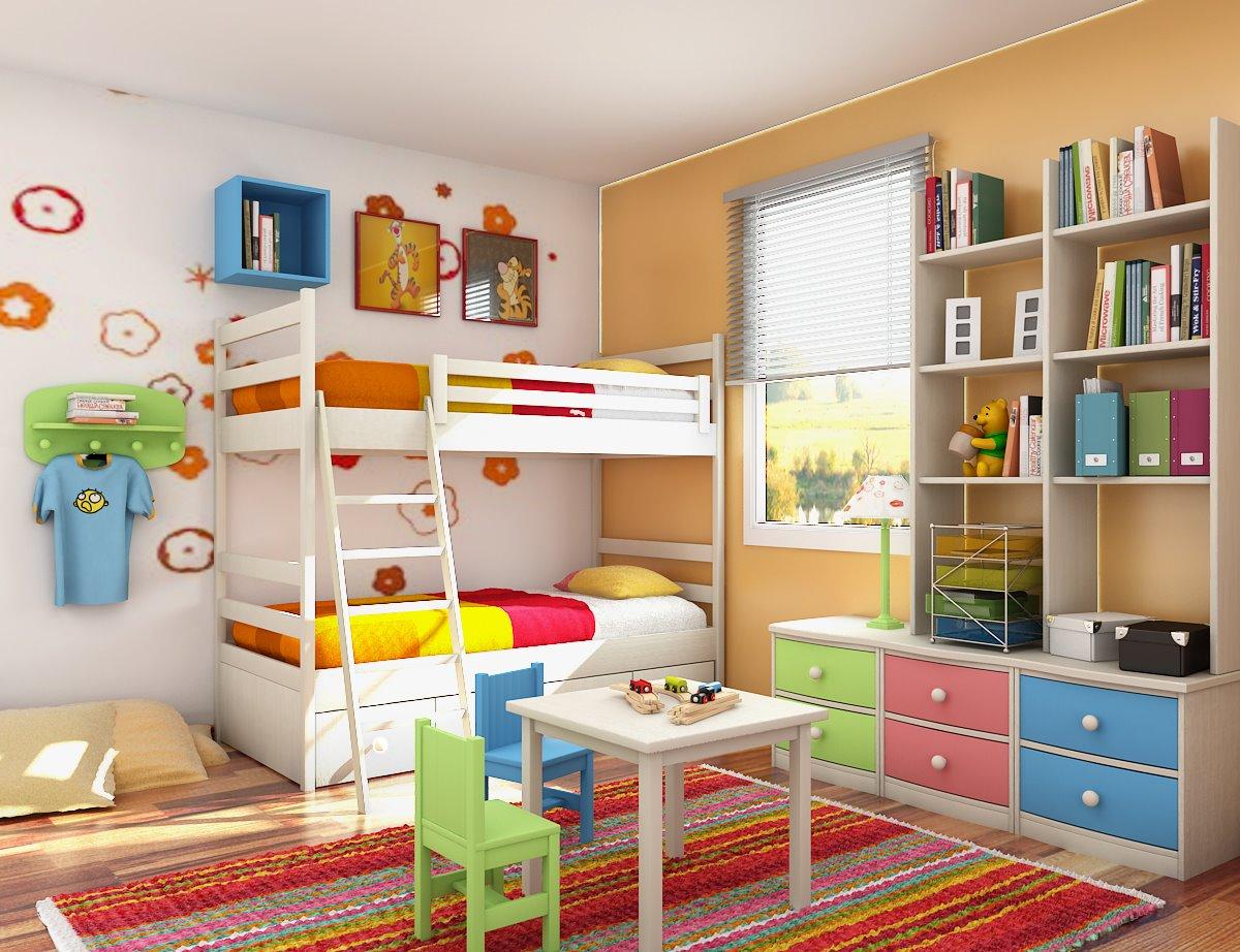 بالصور غرف نوم للاطفال , اجمل تصميمات لغرف نوم الاطفال 1763 1