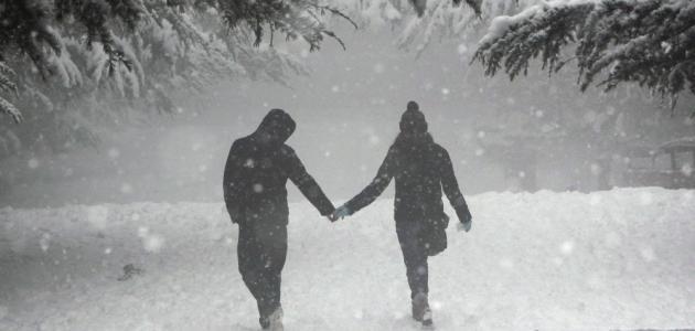 صورة كلمات عن الشتاء , اجمل كلمات عن الشتاء