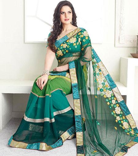 بالصور ازياء هندية , اجمل الصور للسارى الهندى 2012 5