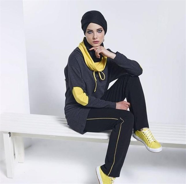 بالصور ملابس رياضية للمحجبات , اشيك لبس رياضى للمحجبات 2024 11