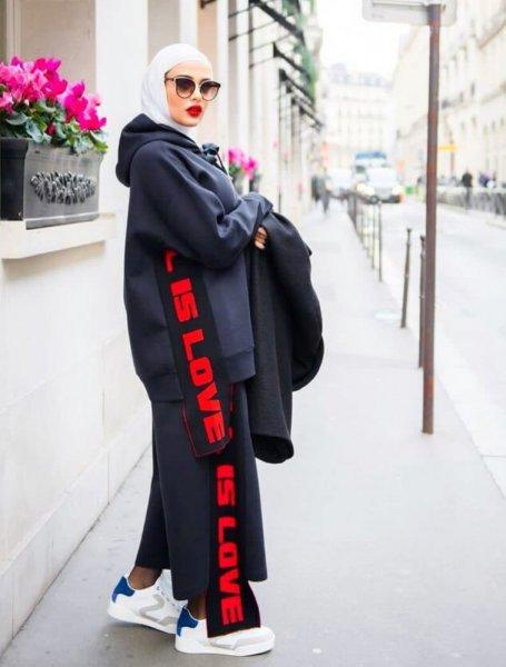بالصور ملابس رياضية للمحجبات , اشيك لبس رياضى للمحجبات 2024 3