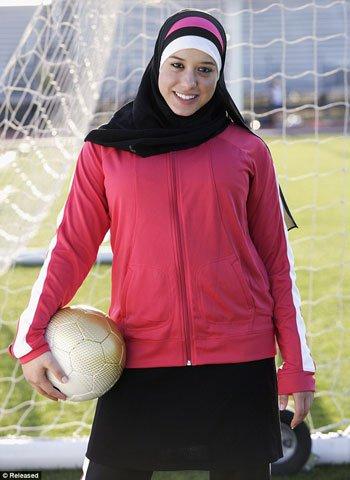 بالصور ملابس رياضية للمحجبات , اشيك لبس رياضى للمحجبات 2024 5