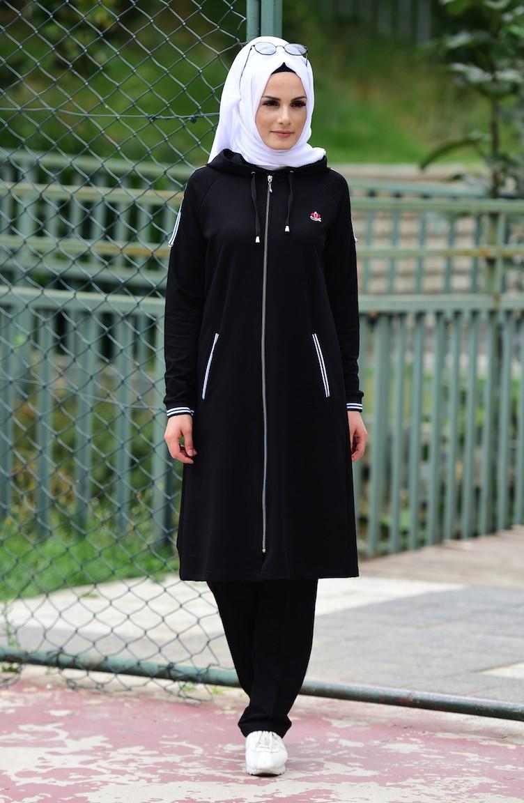 بالصور ملابس رياضية للمحجبات , اشيك لبس رياضى للمحجبات 2024 6