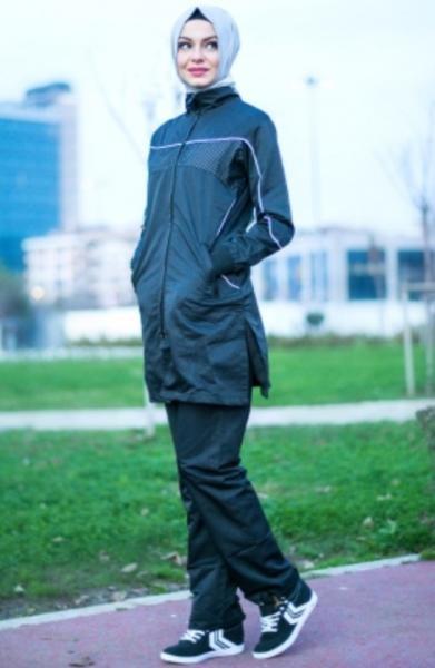 بالصور ملابس رياضية للمحجبات , اشيك لبس رياضى للمحجبات 2024 8