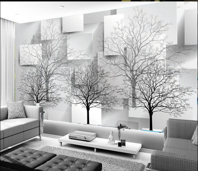 بالصور ورق جدران رمادي , اجمل اشكال ورق جدران رمادى 2049 11
