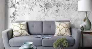 بالصور ورق جدران رمادي , اجمل اشكال ورق جدران رمادى 2049 12 310x165