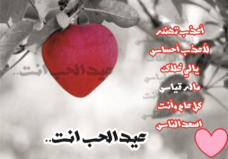 بالصور رسائل عيد الحب , اجمل الرسائل الرومانسية فى عيد الحب 2162 3