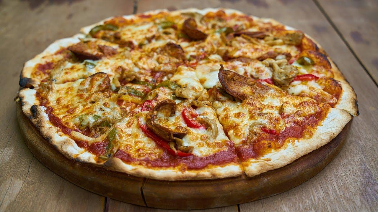 بالصور كيفية تحضير البيتزا , البيتزا في البيت بطريقة سهلة 2703 2