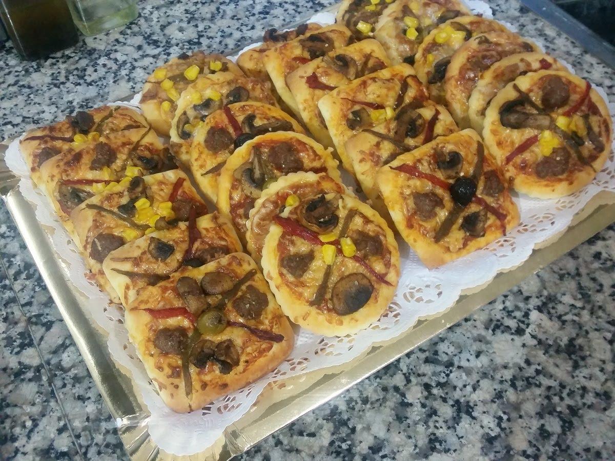 بالصور كيفية تحضير البيتزا , البيتزا في البيت بطريقة سهلة 2703 3