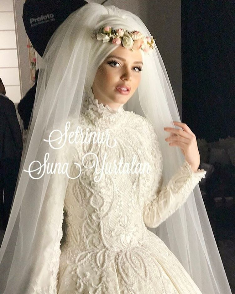 c0722110b فساتين زفاف للمحجبات , موضة فساتين الزفاف لكل عروسة - صور بنات