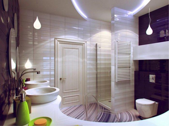 بالصور حمامات مودرن , اجدد موديلات حمامات بتصاميم مميزة