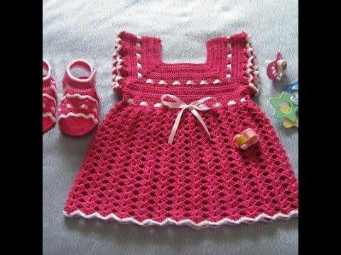 بالصور فساتين كروشيه , اختارى اجمل فستان كروشية لبنوتك 2814 1