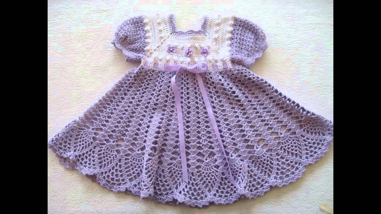 بالصور فساتين كروشيه , اختارى اجمل فستان كروشية لبنوتك 2814 10