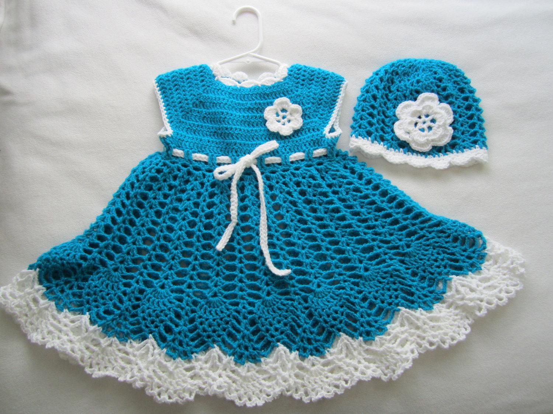 بالصور فساتين كروشيه , اختارى اجمل فستان كروشية لبنوتك 2814 11