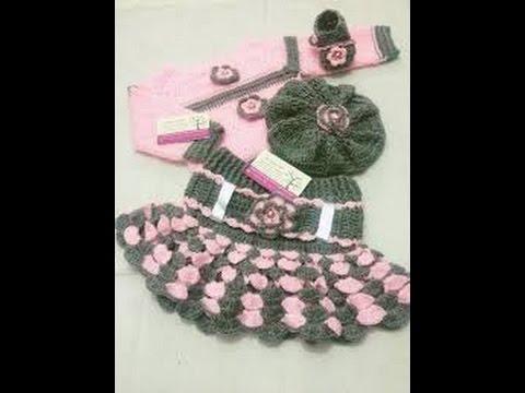 بالصور فساتين كروشيه , اختارى اجمل فستان كروشية لبنوتك 2814 2