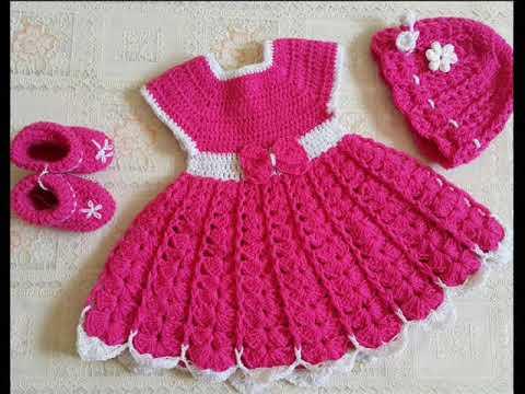 بالصور فساتين كروشيه , اختارى اجمل فستان كروشية لبنوتك 2814 4