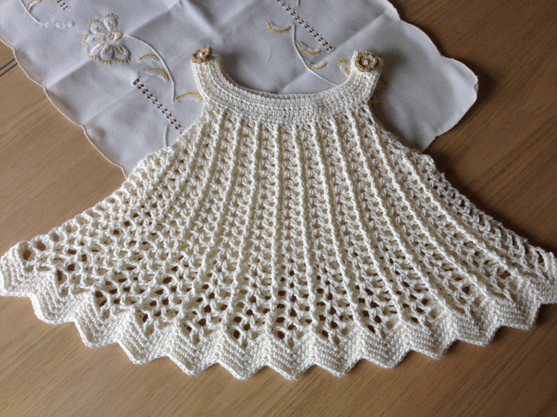 بالصور فساتين كروشيه , اختارى اجمل فستان كروشية لبنوتك 2814 5