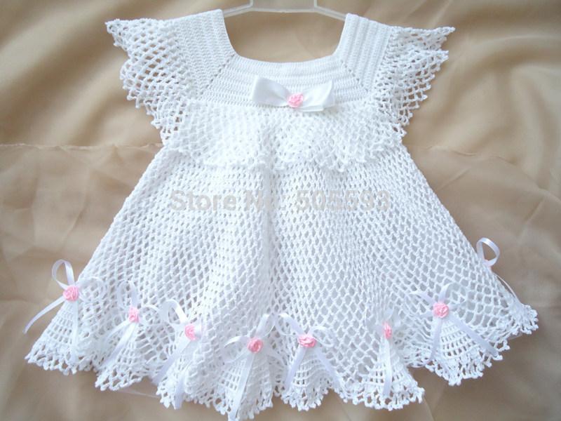 بالصور فساتين كروشيه , اختارى اجمل فستان كروشية لبنوتك 2814 8