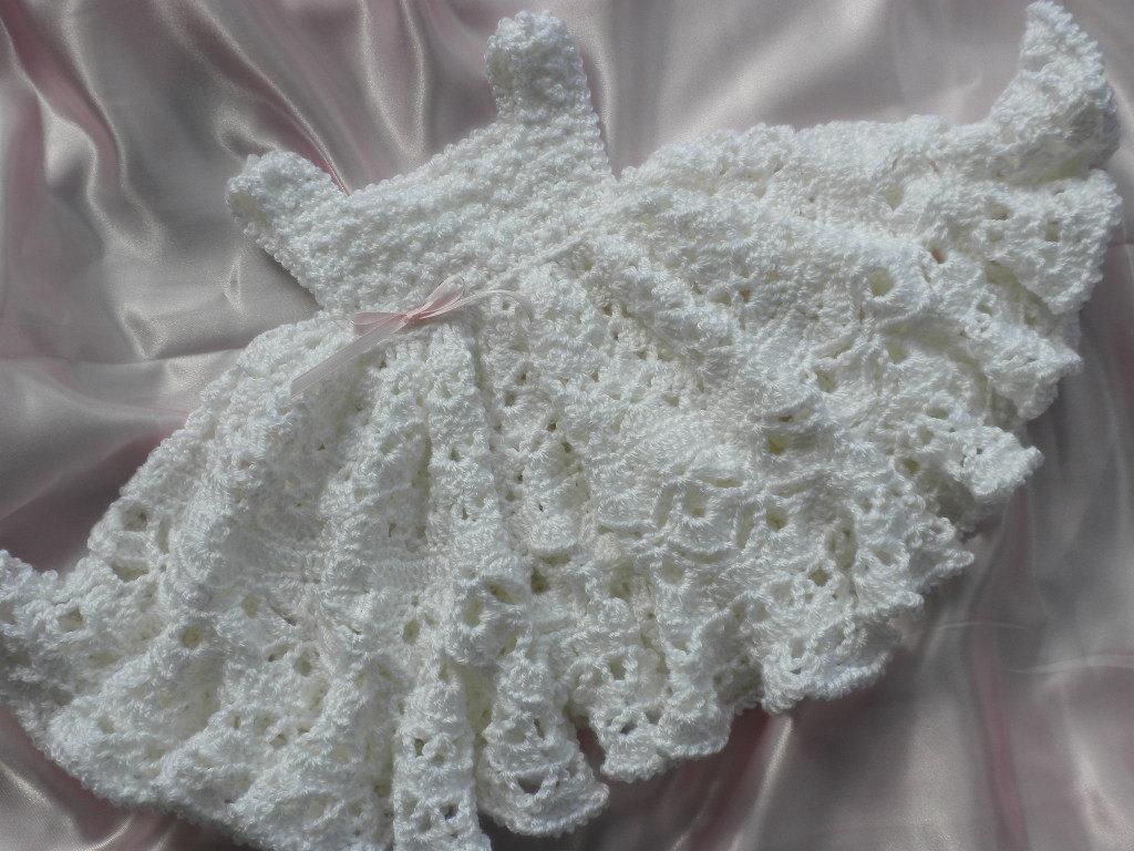 بالصور فساتين كروشيه , اختارى اجمل فستان كروشية لبنوتك 2814 9